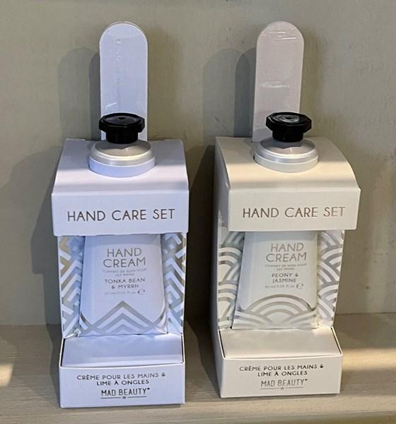 Splash of Silver Hand Care set