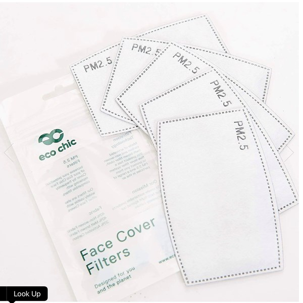Pack of 5 filters