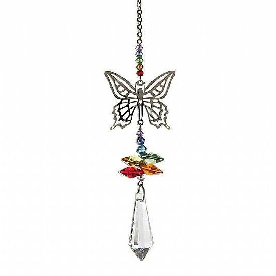 Butterfly Crystal Sun Catcher