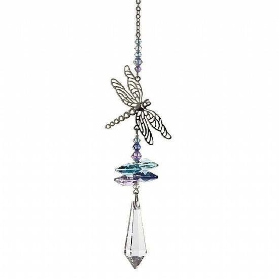 Dragonfly Crystal Sun Catcher