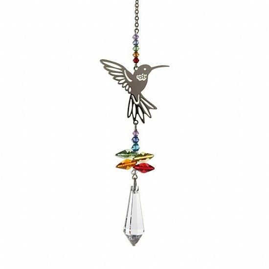 Humming Bird Crystal Sun Catcher