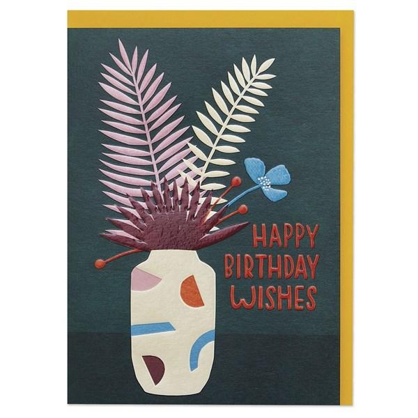Happy Birthday Wishes (botanical)