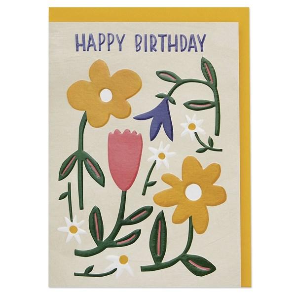 Happy Birthday (Meadow flowers)