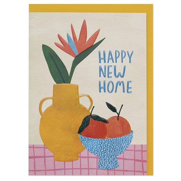 Happy New Home Fruit & Flowers