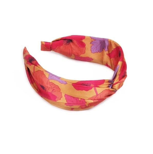 Satin Headband Poppy