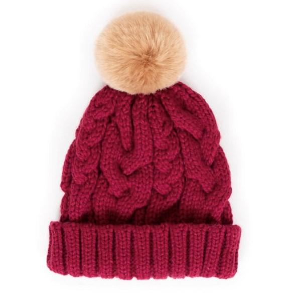 Charlotte Hat - Raspberry