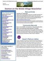 September 2021 newsletter thumbnail
