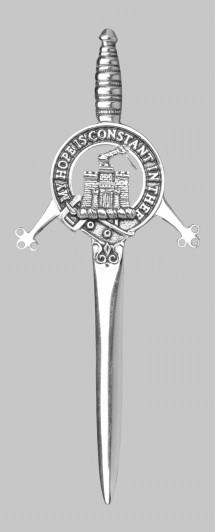Clan Macdonald of Clanranald Kilt Pin