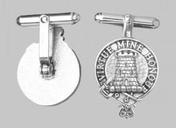Clan MacLean Cufflinks