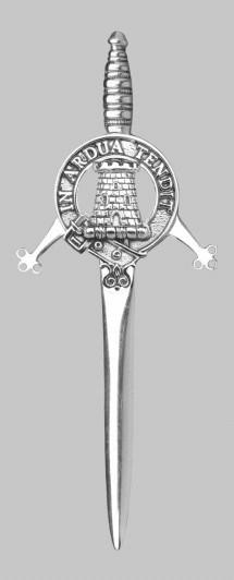 Clan Malcolm Kilt Pin