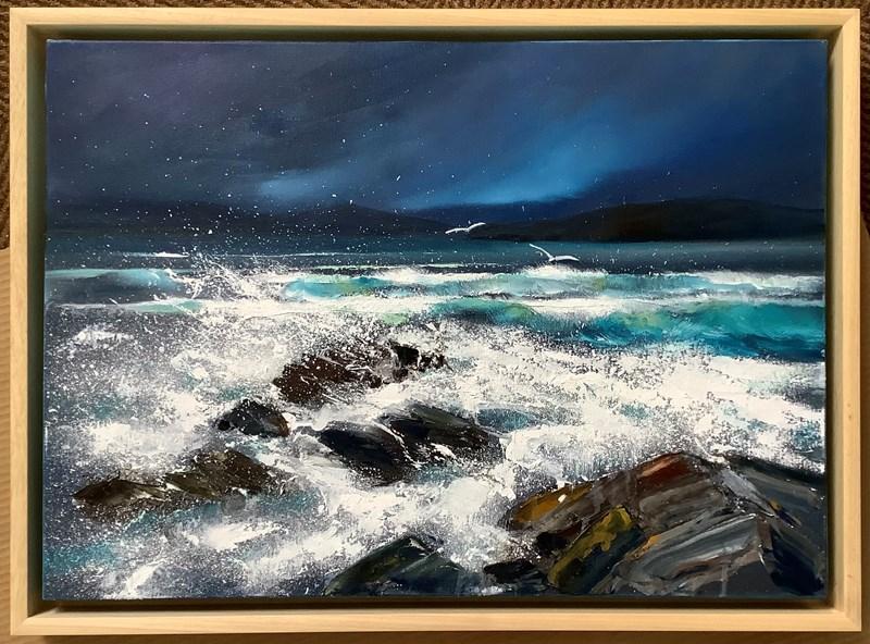 Wild day, Coigach, 70x50cm, available from Aberfeldy gallery