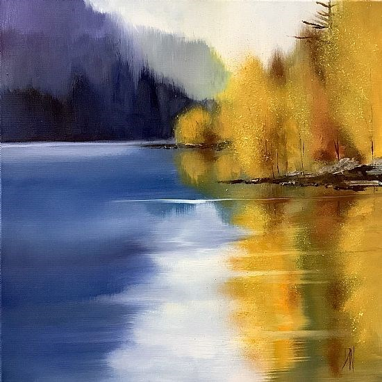 Purple and gold, Loch Ness