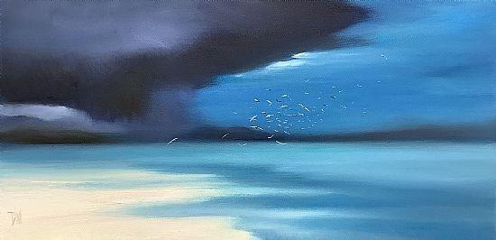 Cloud over Taransay