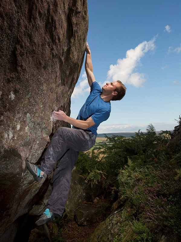 Rock climbing instructor guide in Northumberland and Lake District