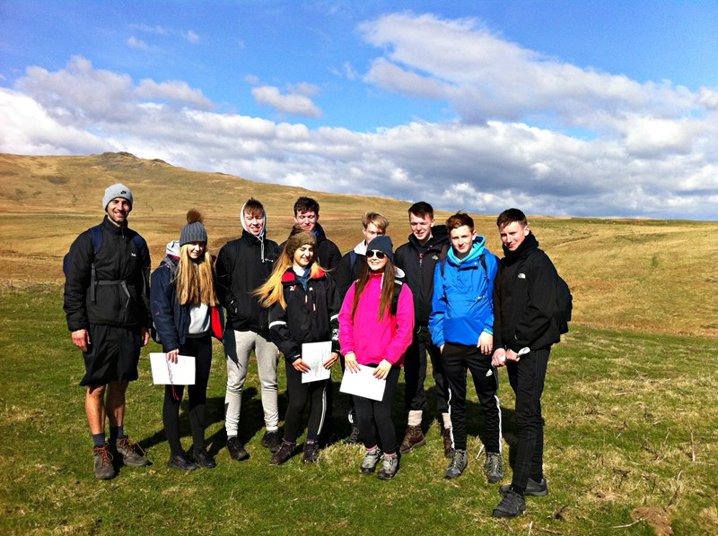 DofE expeditions in Northumberland, North East England
