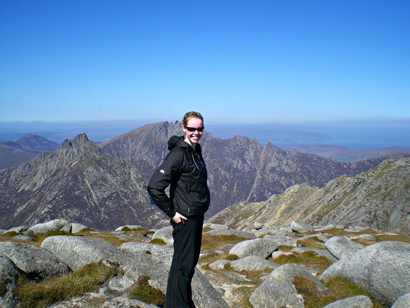 Hillwalking in the Lake District, Cumbria, North West England