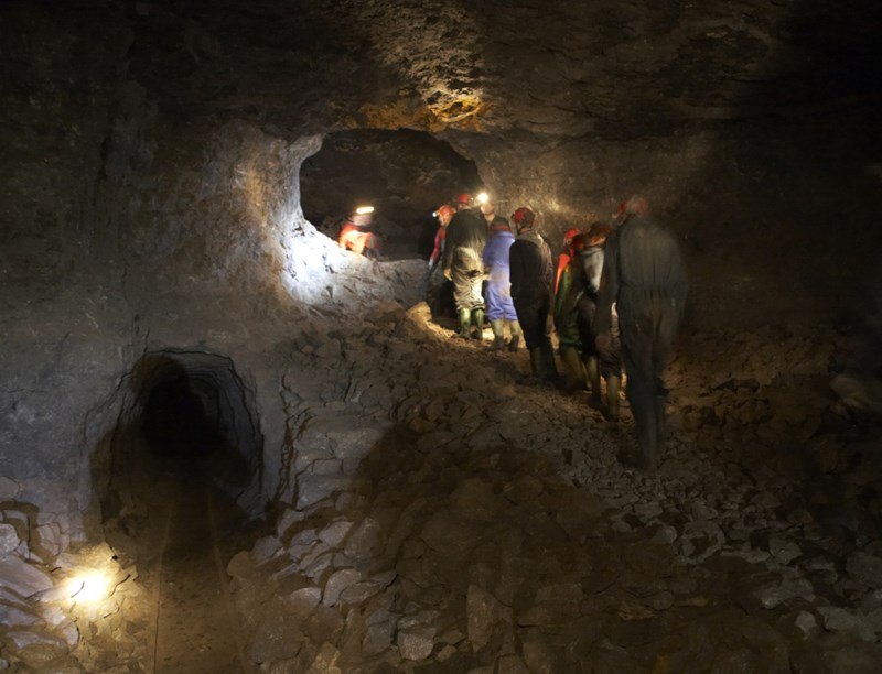 Local cave and mine leader award instructor in Cumbria and Northumberland