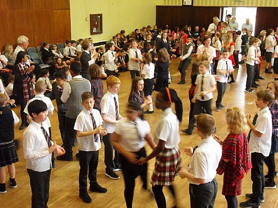 Bearsden Primary children