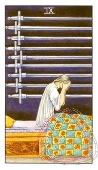 Nine of Swords & her Astrological Bed Cover
