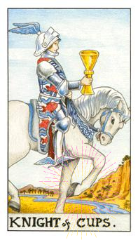 The Knight of Cups & the Horse's Foot