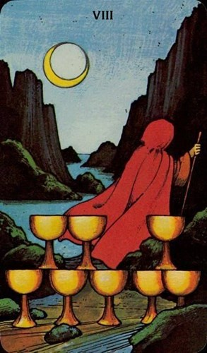 Confusion & the Eight of Cups