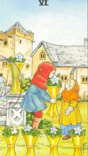 The Six of Cups - The Guard