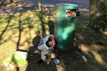 Take Your Litter Home - Keep Pirbright Tidy