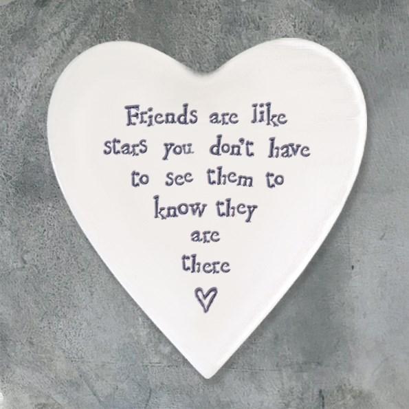 Ceramic Coaster Friends are like stars...