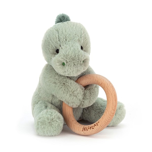 Dino Teething Ring