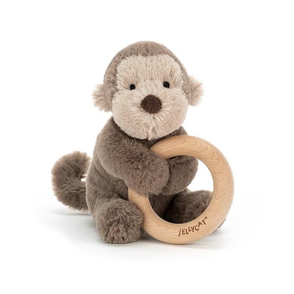 Monkey Teething Ring