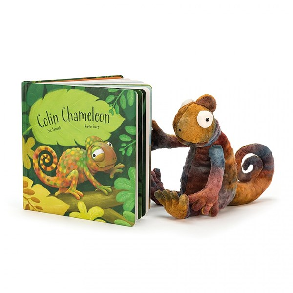 Colin the Chameleon Book &Toy