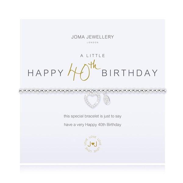 A Little 40th Birthday Joma Bracelet