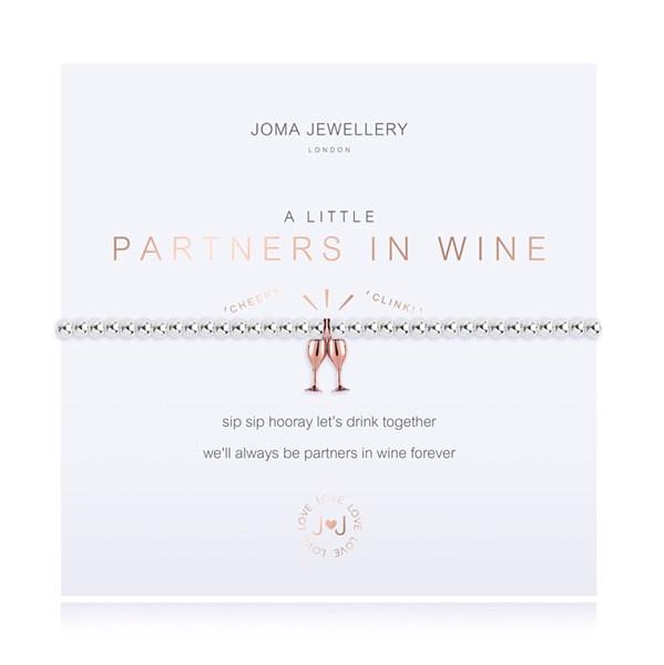 A Little Partners in Wine Joma Bracelet