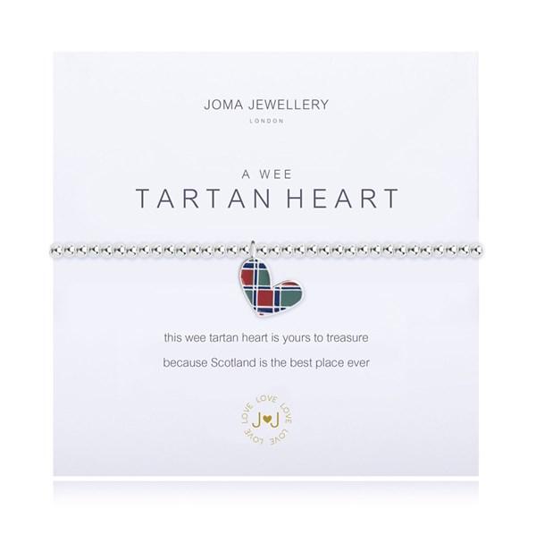 A Little Tartan Heart Joma Bracelet