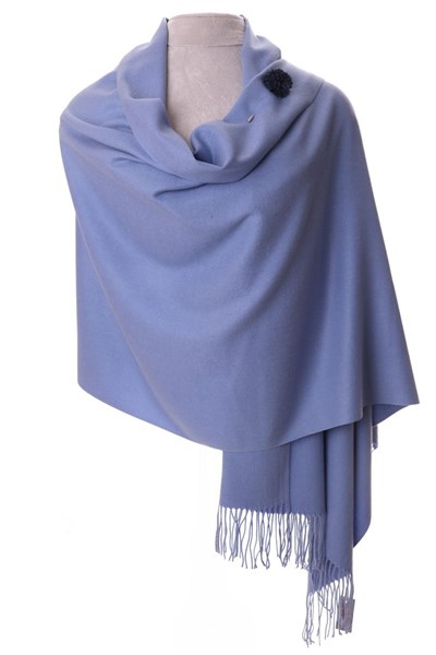 Lavender Pashmina with scarf pin