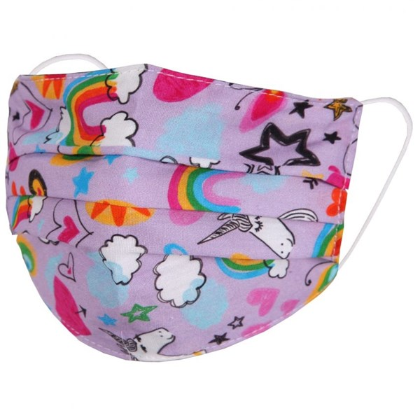 Unicorn Kids Face Mask