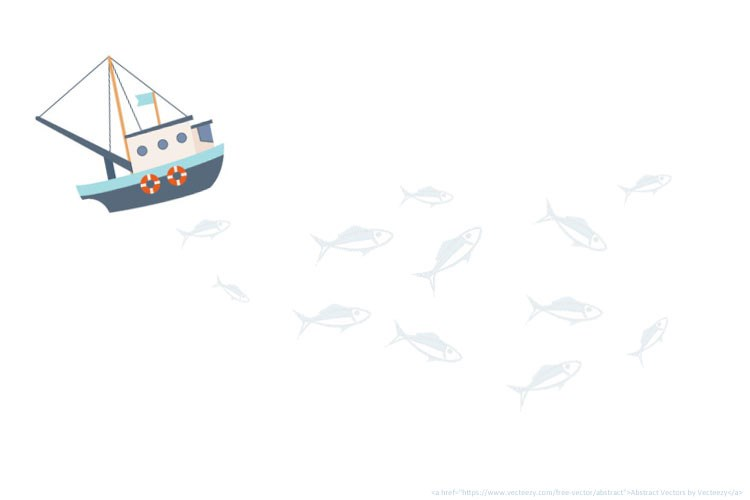 Boat and fishies