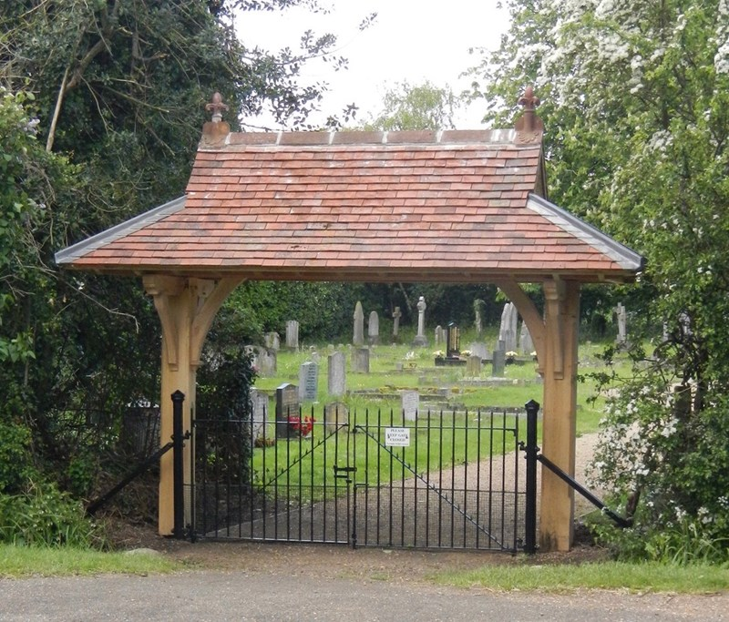 Photo of the Lych Gate
