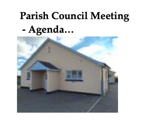 Parish Council Meeting Agenda ...