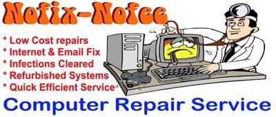 Nofix Nofee Computer Repair Services