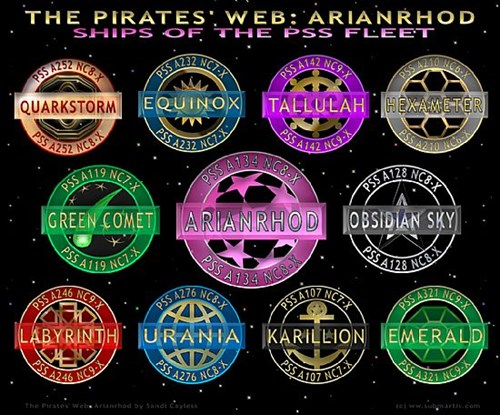 The Pirates' Web - Ships of the PSS Fleet