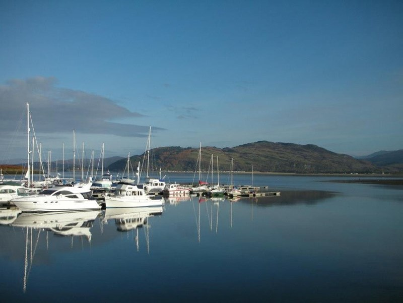 Taken from the Wide Mouthed Frog looking across the marina