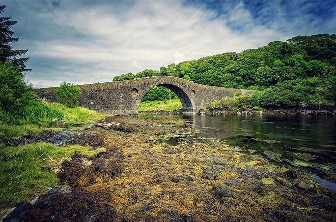 Bridge across the Atlantic taken from the Isle of Seil
