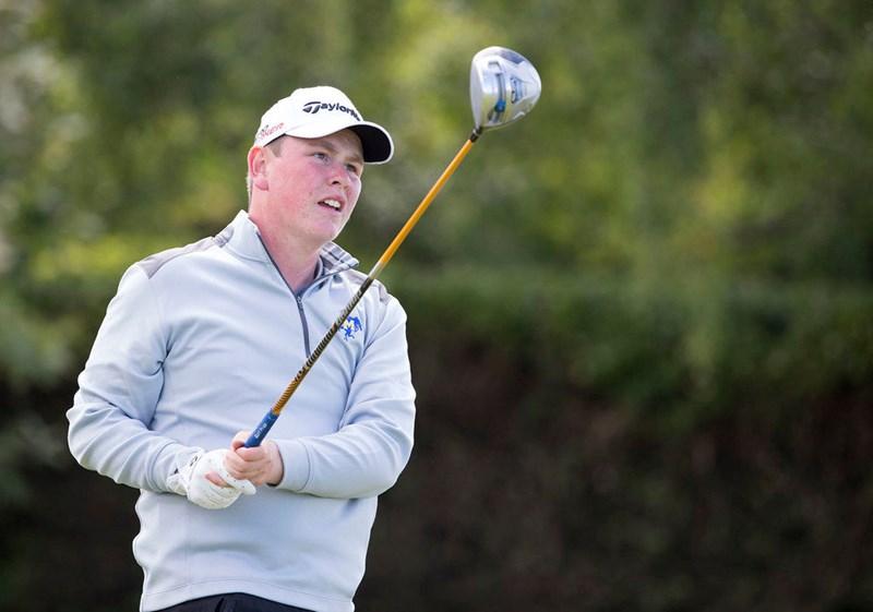 Robert MacIntyre professional golfer from Glencruitten Golf Club