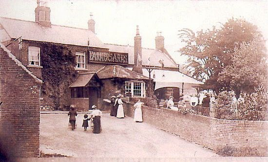 An old picture of the Farmers Arms