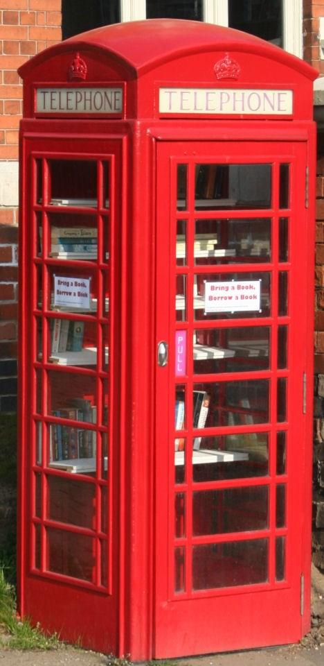 Plumtree's phone box