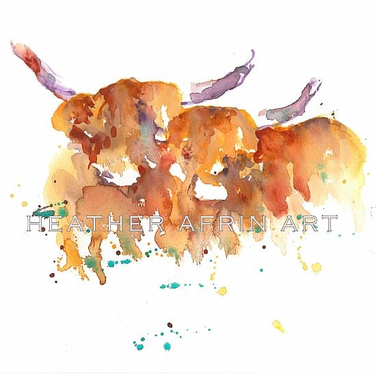 Two Messy Cows
