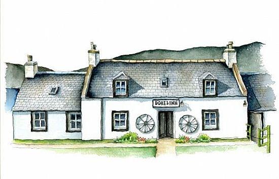 Dores Inn, Lochness shore