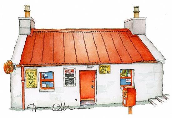 Balallan Post Office