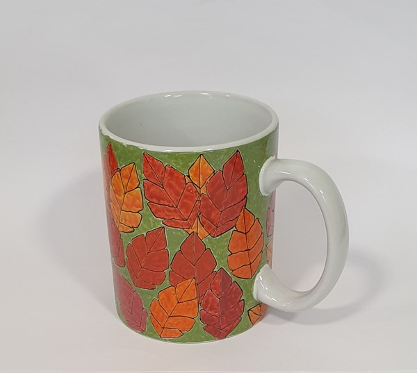 'Autumn' - hand drawn mug